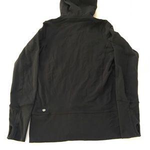 LULULEMON Black Hoodie Zip Up Sweater